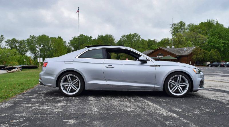 First Drive 2018 Audi A5 20t S Line Quattro Coupe Car Shopping