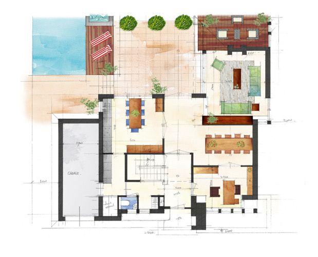 Architect vrijstaande woning google zoeken plattegrond for Architect zoeken