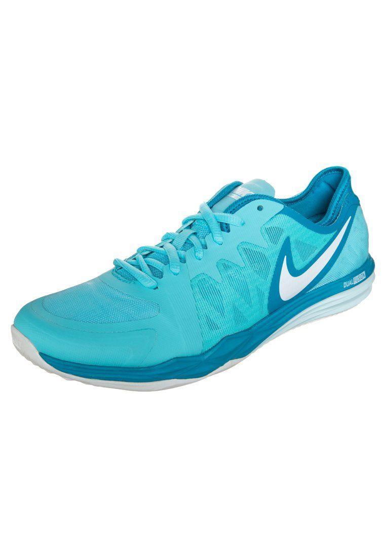 Nike Performance Nike Dual Fusion Tr 3 Obuwie Do Biegania Amortyzacja Jasnoniebieski Fashyou Pl Precios De Zapatillas Zapatillas Fitness Nike