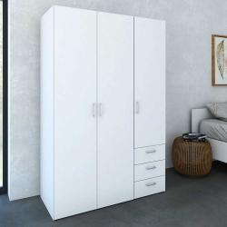 3türige Kleiderschränke Schrank, Kleiderschrank und