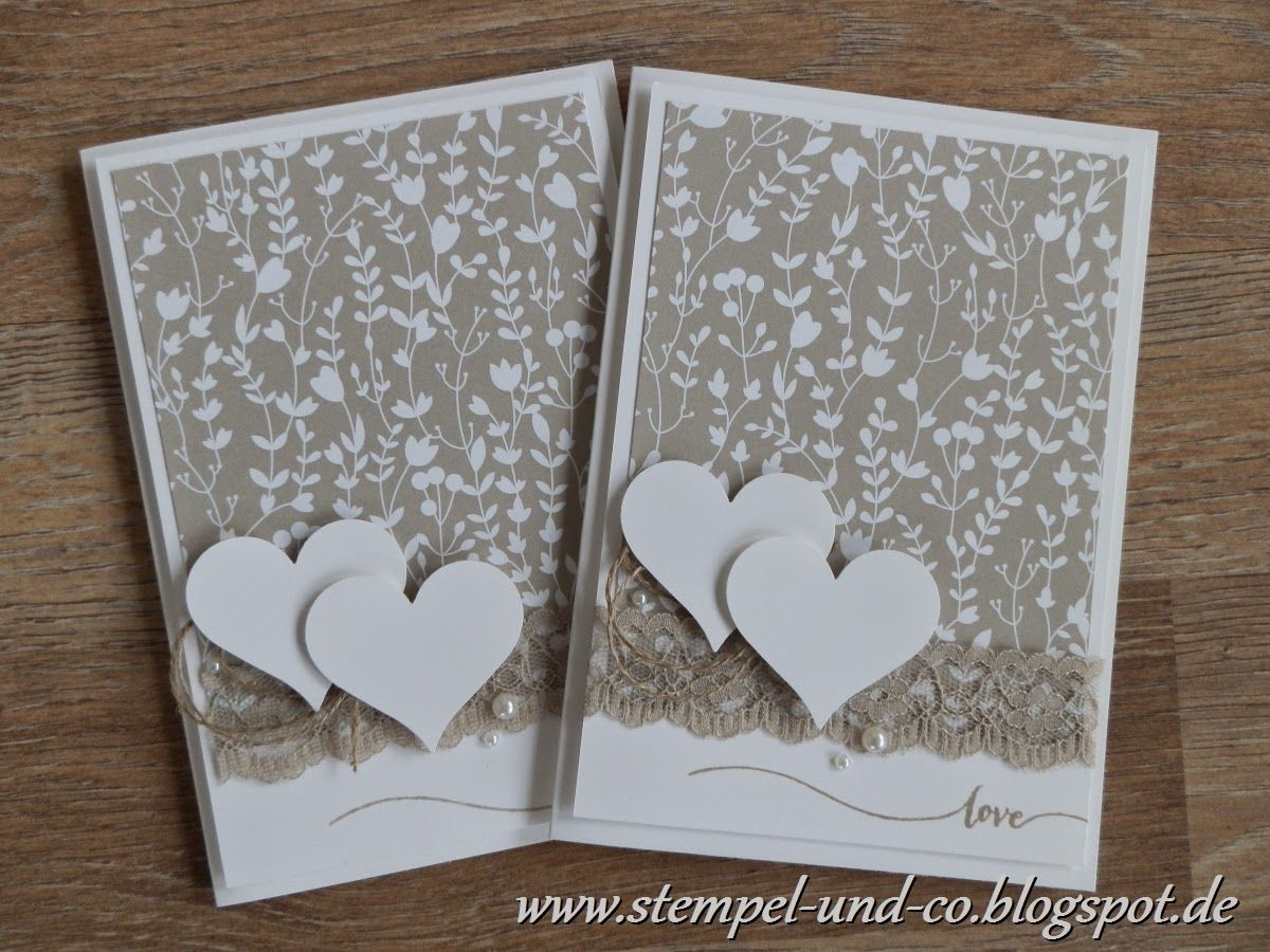 hochzeit karte valentinstag sab stampin up designerpapier trau dich stampin up ideas. Black Bedroom Furniture Sets. Home Design Ideas