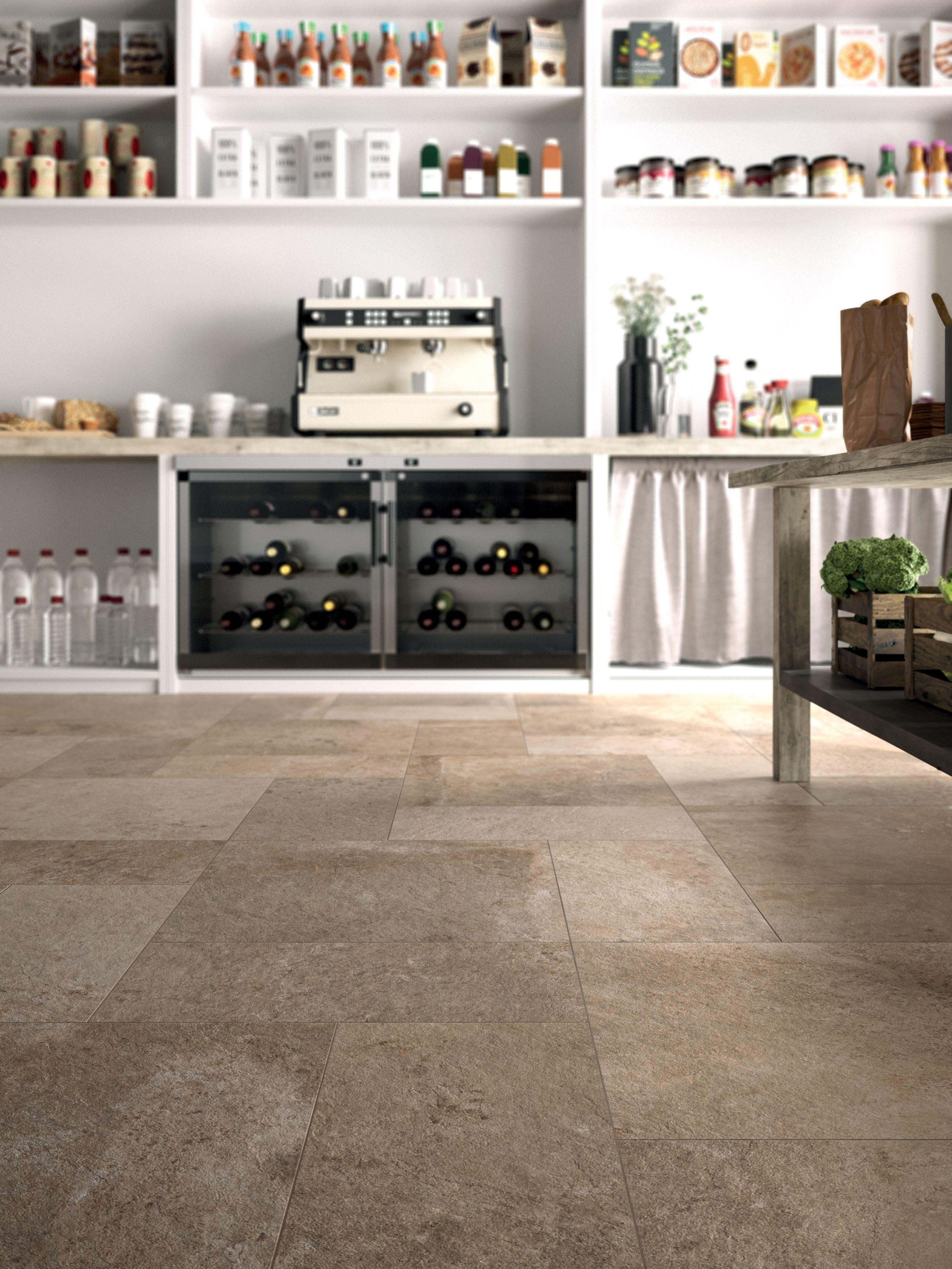 The Natural Beauty Of Stone Effect Floor Tiles Interior Ceramics Design