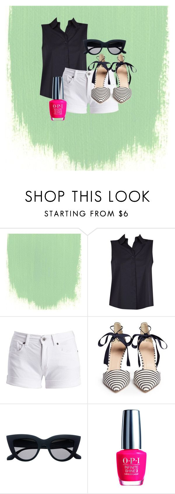 summer fun by candace-cook-cushman on Polyvore featuring Barbour International, J.Crew and OPI