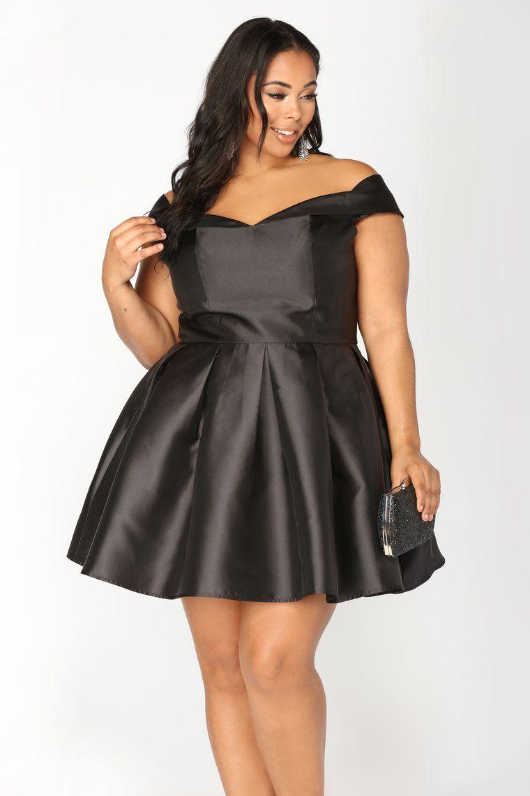Wonderful Life Dress Black Fashion nova dress, Plus