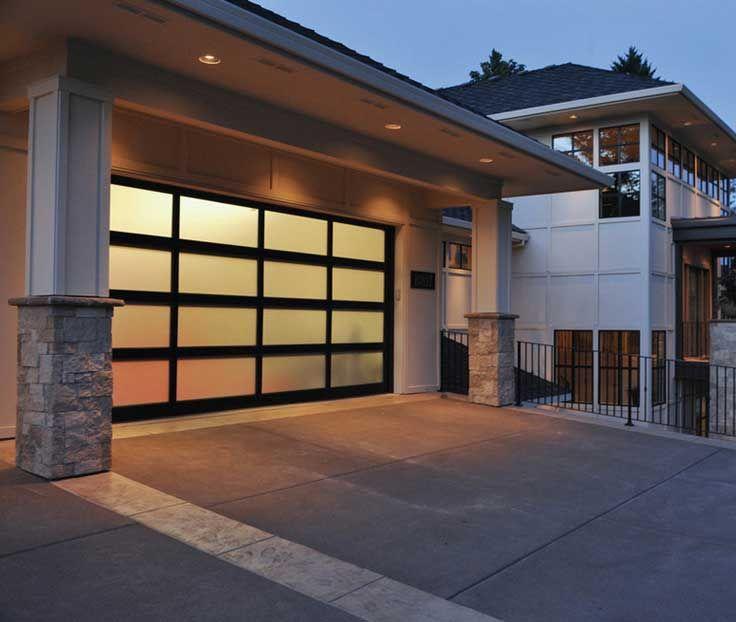 La Porte De Garage Sectionnelle Design Nest Pas La Seule Type De - Porte garage sectionnelle sur mesure