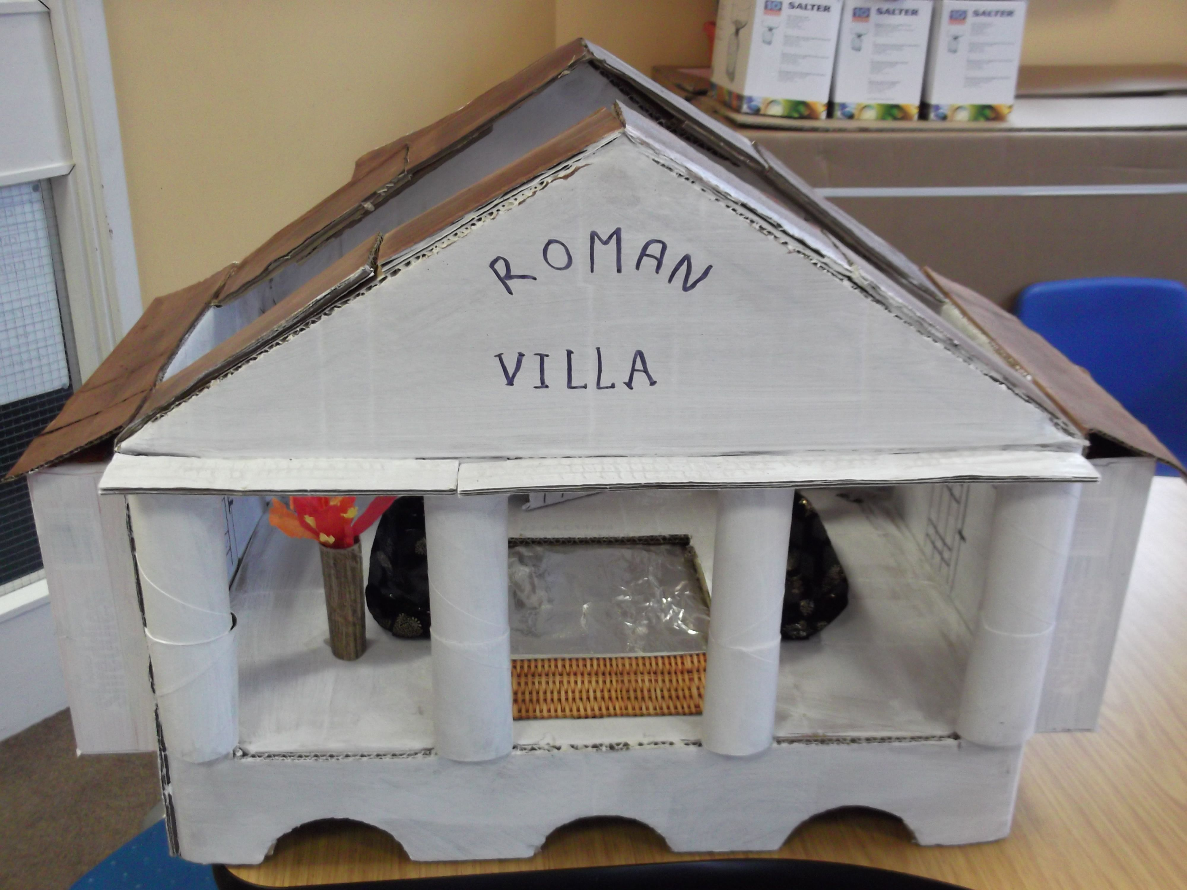 Make A Roman Villa George Palmer Primary Year Group