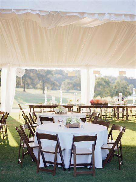 Beautiful Outdoor Reception At The Highland Park Golf Course Birmingham Al Wedding Venue Decor Pinterest Highlands