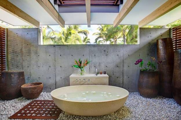 Espaços Ao Ar Livre, Design De Spa Em Casa E Decoração
