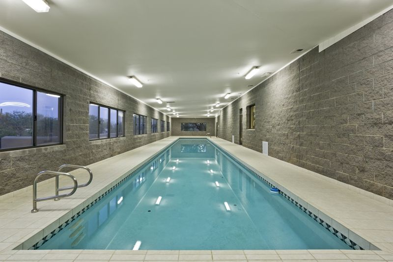 The Indoor Lap Pool At This Scottsdale Home For Is Roximately 90 Feet Long And 12 Wide Heated Located Just Off Exercise