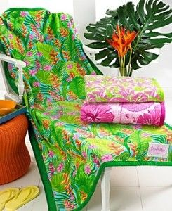 lilly beach towels lilly pulitzer lillies pool towels on kaboodle kitchen navy id=78869