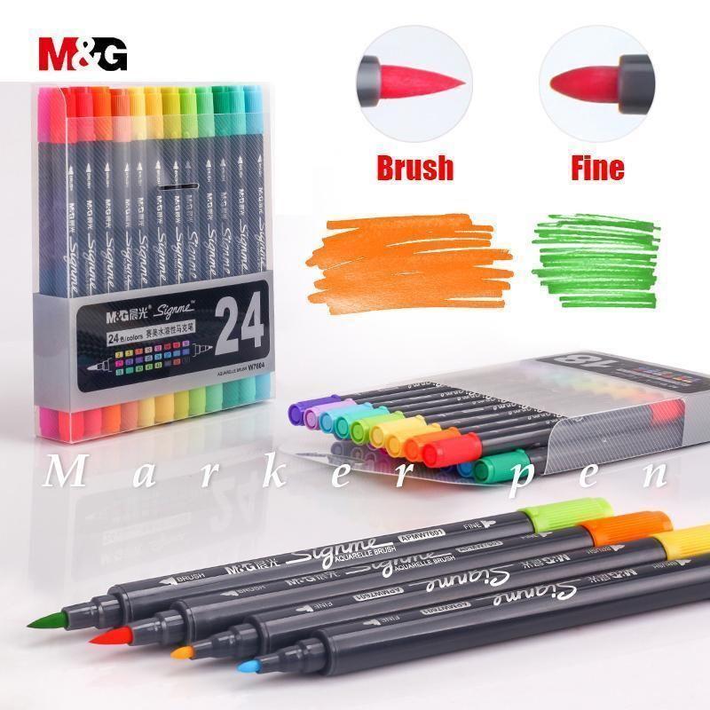 Sta Aquarelle Coloring Brush Pens Art Instadaily Seaview Dogs