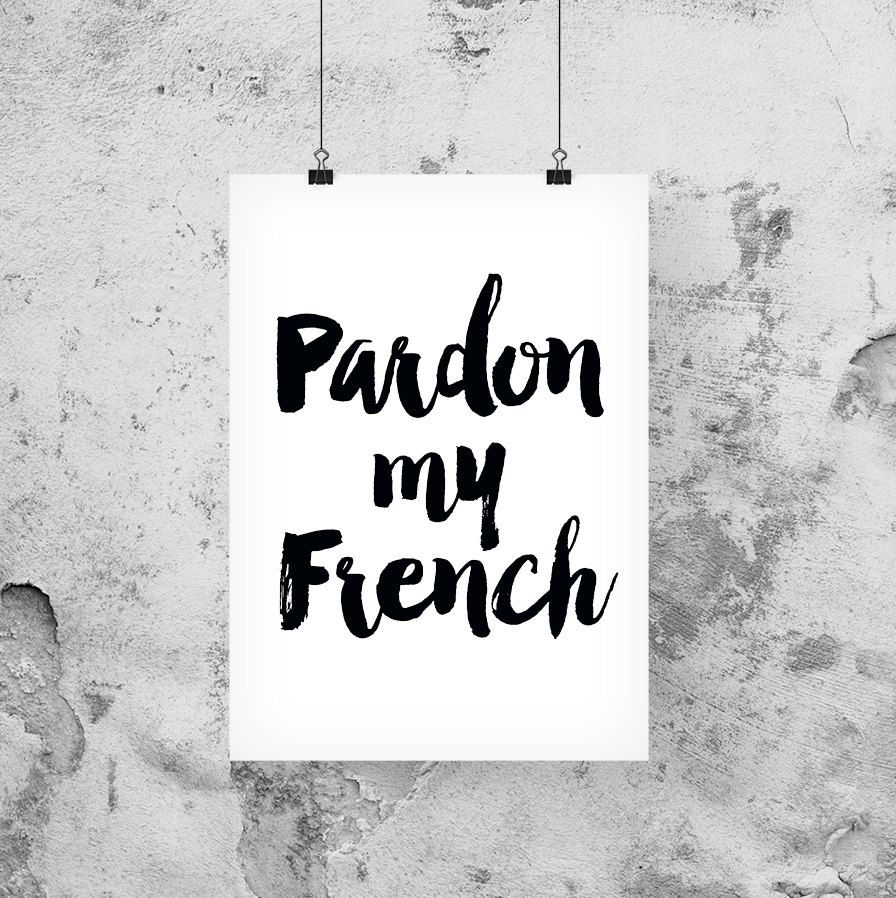 French quote, Travel quote print, Travel poster, Wall art ...