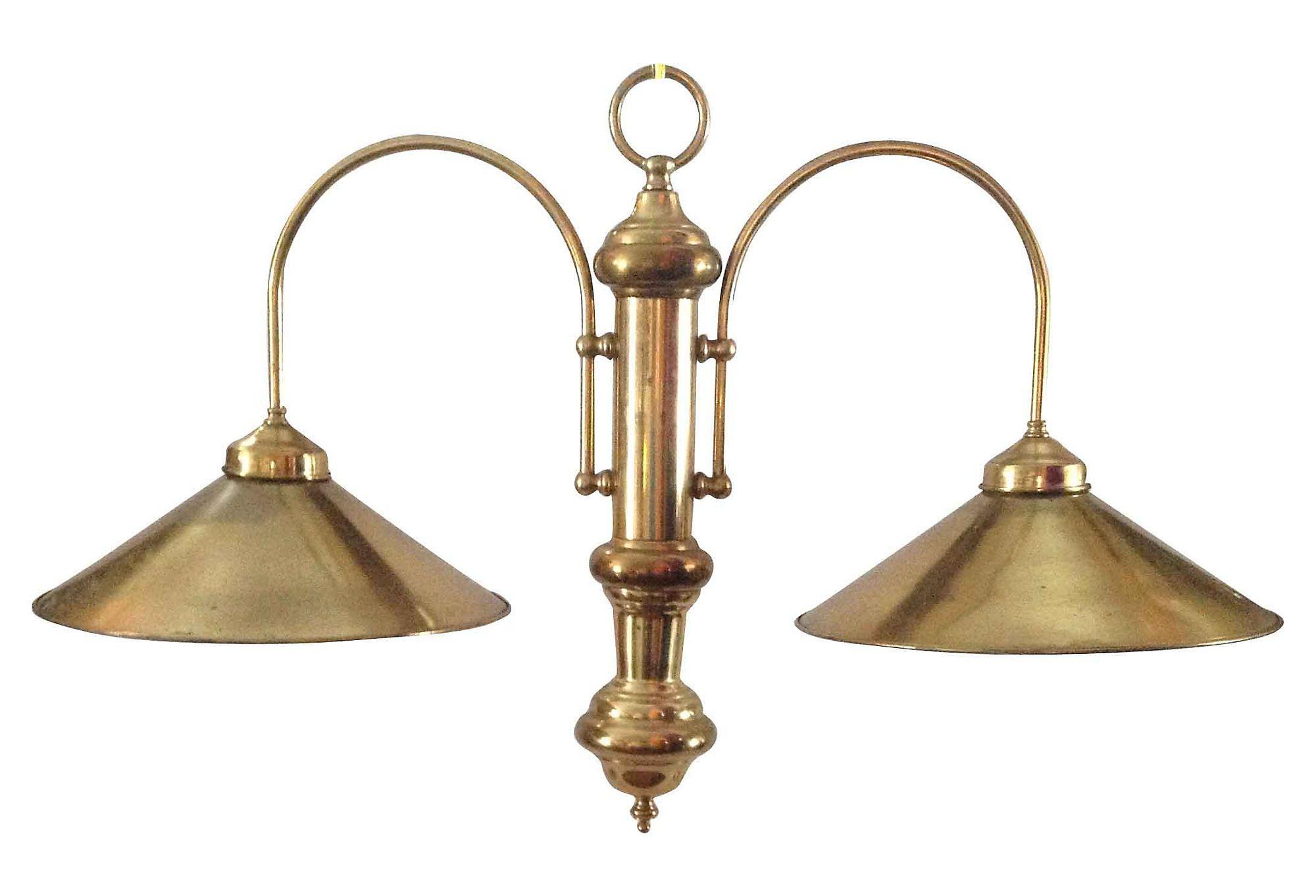 One kings lane brass billiard style chandelier lighting one kings lane brass billiard style chandelier arubaitofo Images