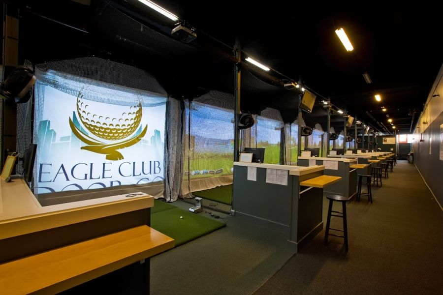 Delightful Eagle Indoor Golf Club