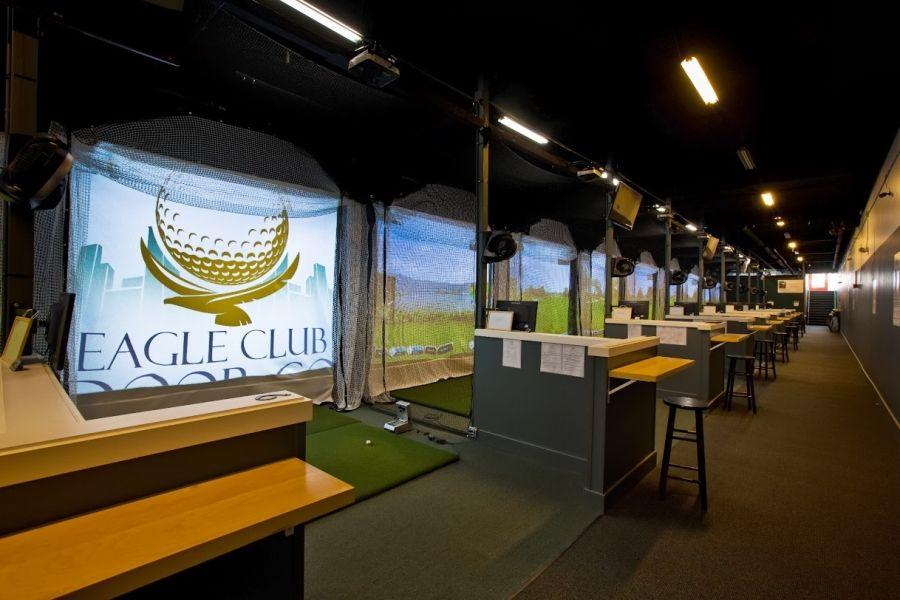 eagle indoor golf club Golf driving range, Golf swing