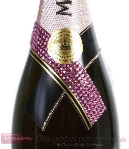 Moet & Chandon Rosé Swarovski - Elements veredelt Champagner 12% 0,75l Flasche von Moet & Chandon, http://www.amazon.de/dp/B006HFLQX2/ref=cm_sw_r_pi_dp_dfTXqb171XCY1