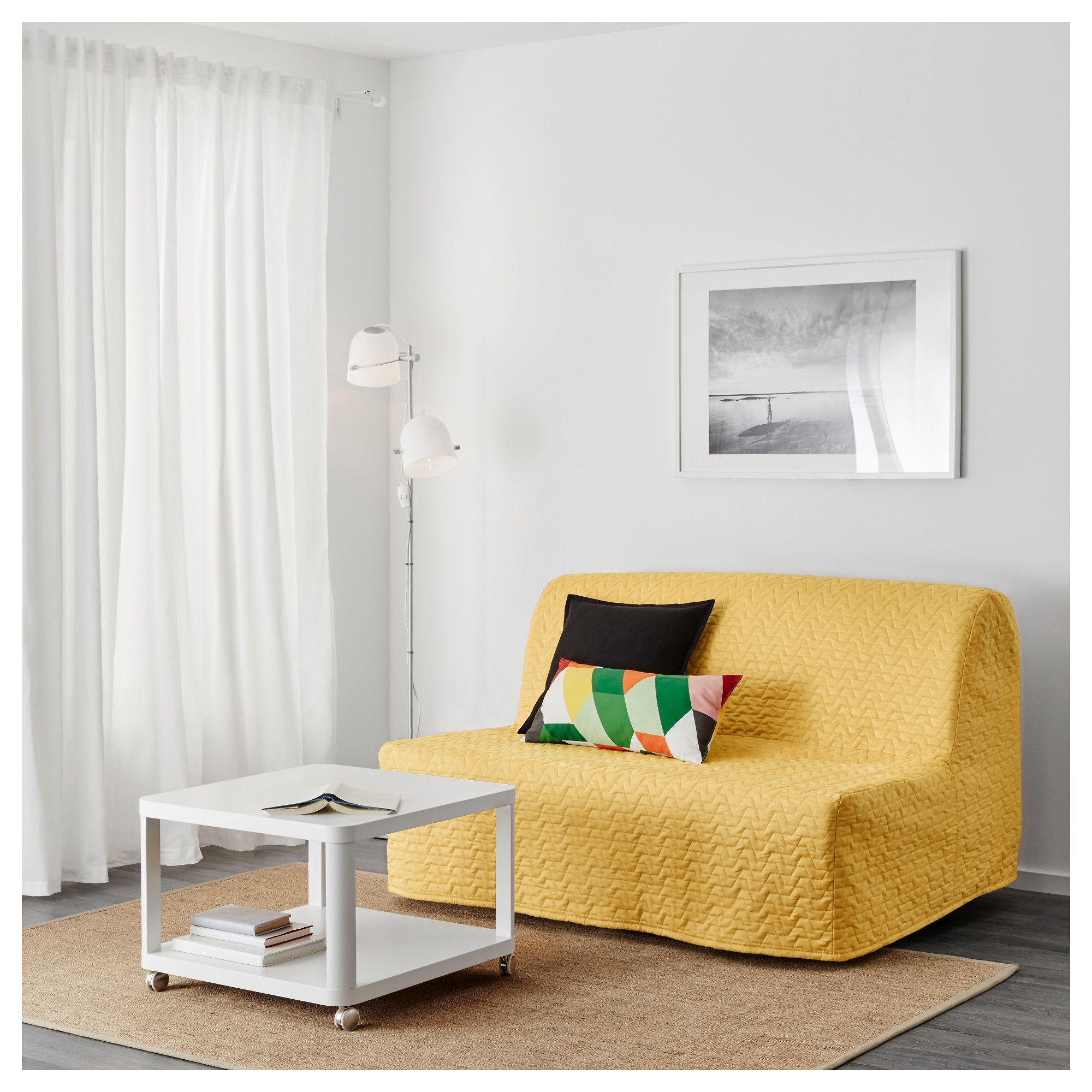Ikea Lycksele Murbo Two Seat Sofa Bed Comfortable And Firm