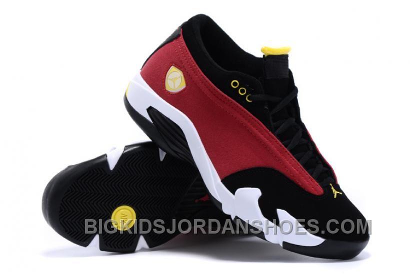 timeless design d660d 29e3f Air Jordan 14 XIV Retro Low NBA 2K16 Red Black Maize For ...