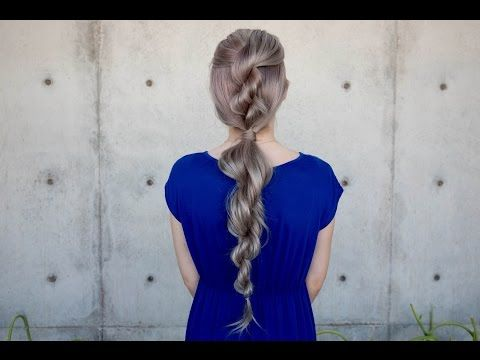 youtube: @confessions of a hairstylist. ropebraid. #hair #video