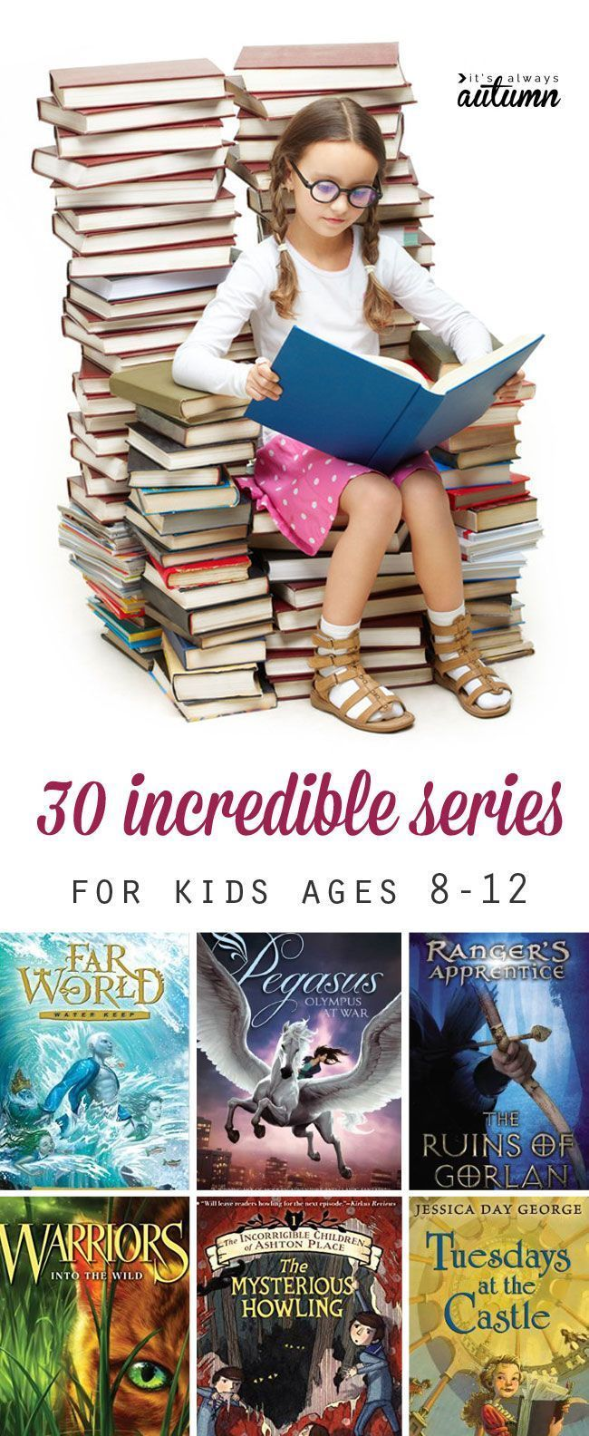 30 Best Book Series For Kids Ages 8 12 Summer Reading List Kids Reading Books For Boys Summer Reading Lists What is appropriate age to read harry