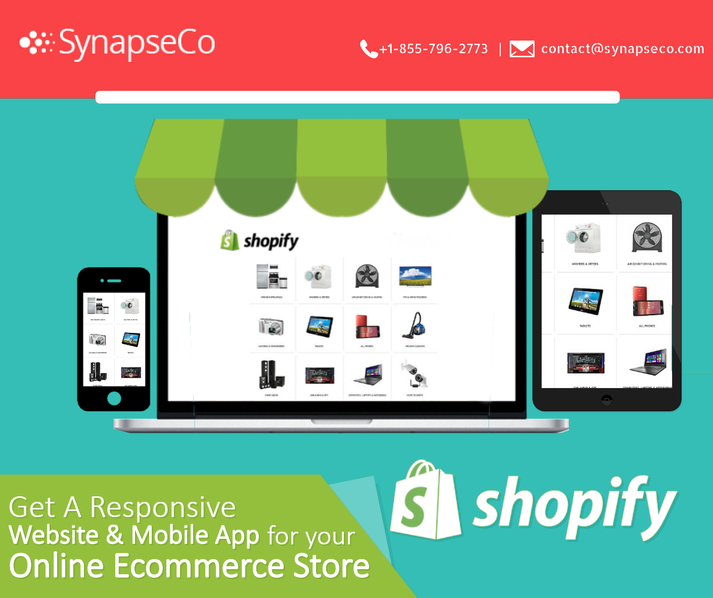 Shopify Development Company in USA with a partnership with