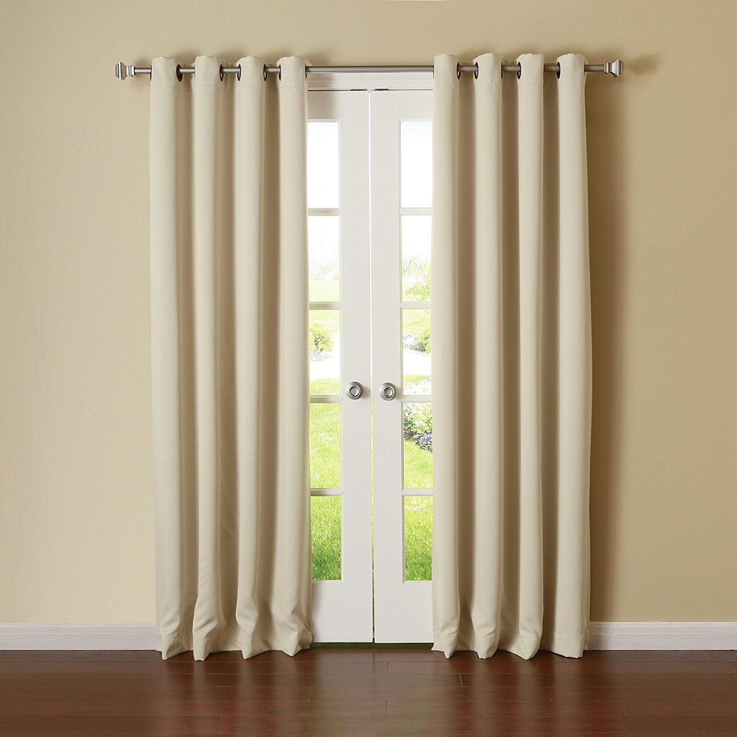 Exceptional Best Home Fashion Thermal Insulated Blackout Curtains   Antique Bronze  Grommet Top   Beige