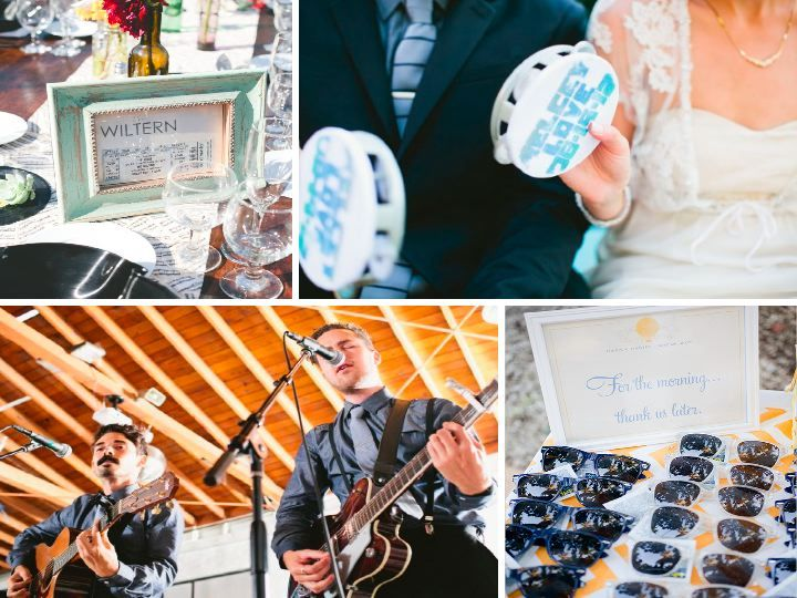 Rock n' Roll wedding ideas from @Melissa Squires Lauren Marghella MLM Event Design {prettymyparty.com}