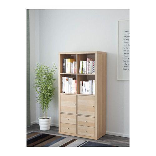 kallax chene blanchi id es pour la maison et pour la maison. Black Bedroom Furniture Sets. Home Design Ideas