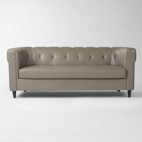 Like The Idea Of A Tufted Sofa To Fancy The Living Room