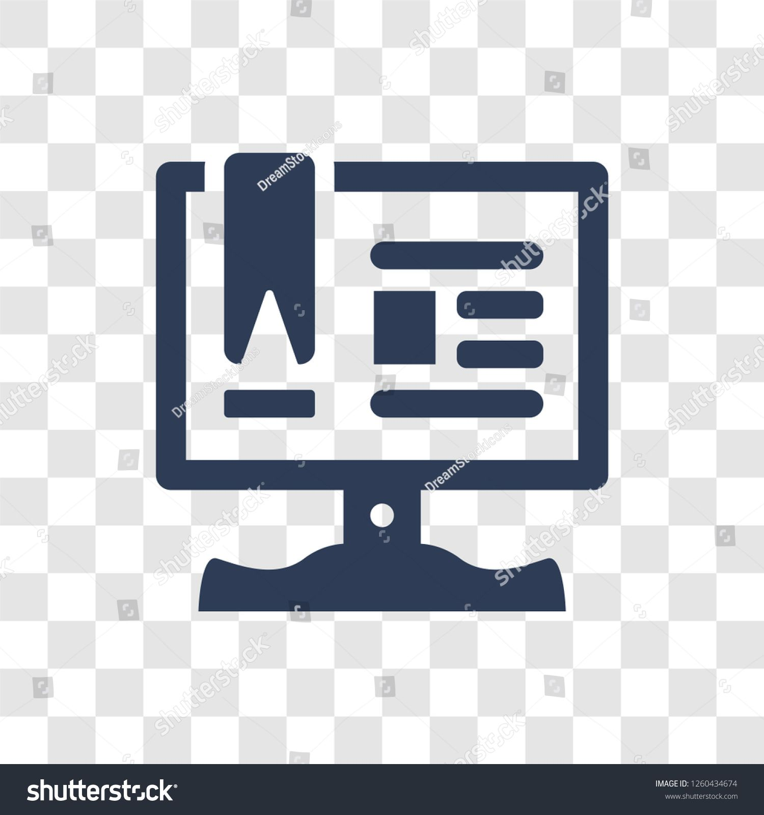 Notes Icon Trendy Notes Logo Concept On Transparent Background