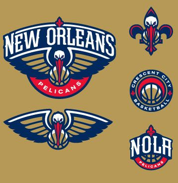 New Orleans Pelicans Logos New Orleans Pelicans Sports