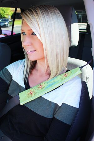 Free Project Instructions To Make An Embroidered Seat Belt