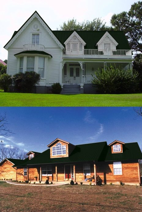 Best Central States Horizon Loc™ Metal Roofing System Fern 640 x 480
