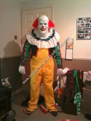 Homemade Pennywise The Clown Costume Halloween