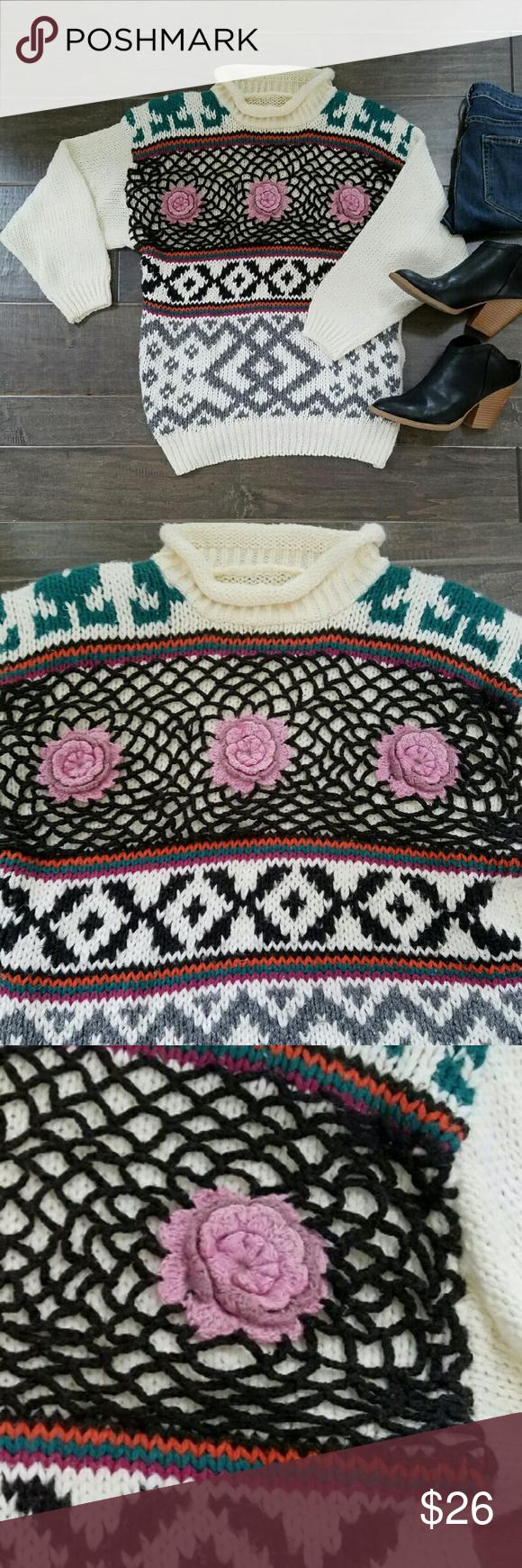 Dorable Fair Isle Crochet Pattern Vignette - Sewing Pattern for ...