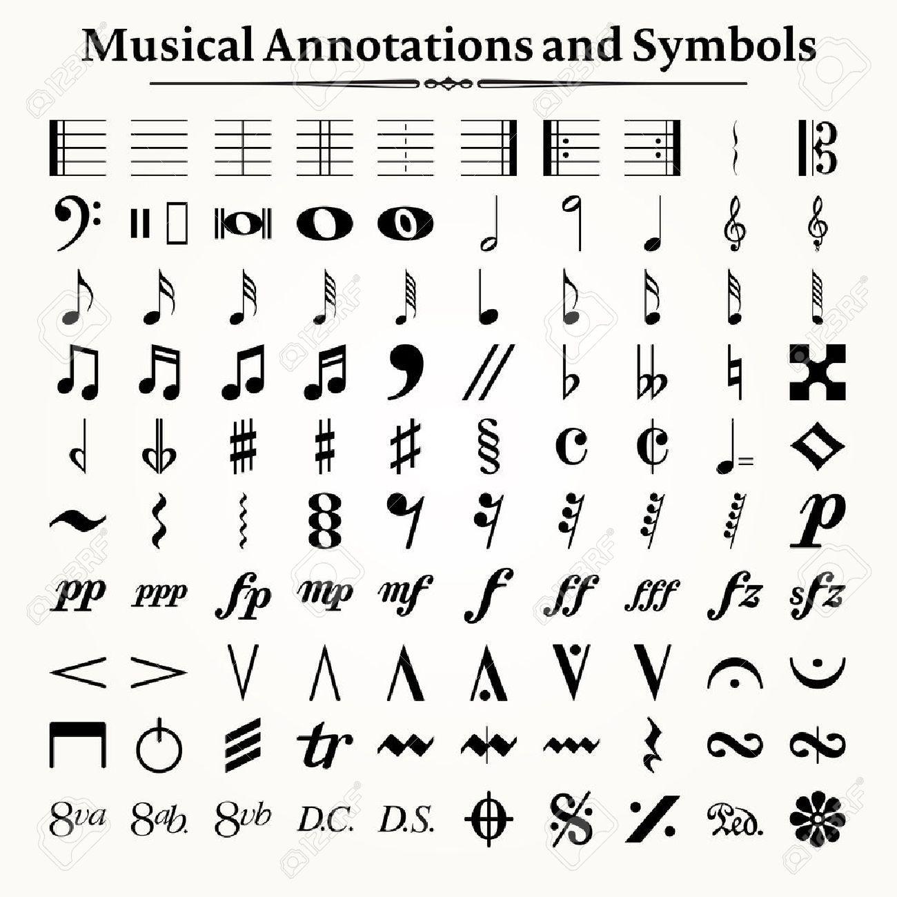 音楽記号の画像検索結果2019 音楽記号音符アート記号