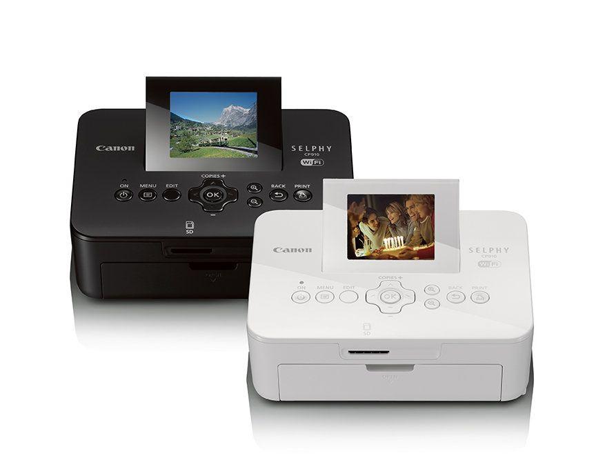 Canon Selphy Cp910 Wireless Compact Photo Printer White Amazonca