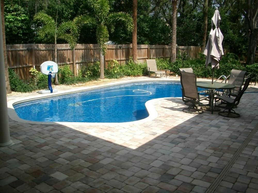 pool designs ideas awesome lighting and natural stone decor and - Backyard Pool Design Ideas