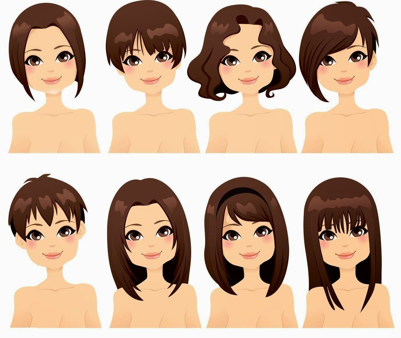 How To Style Your Hair To Match The Shape Of Your Face Beautiful
