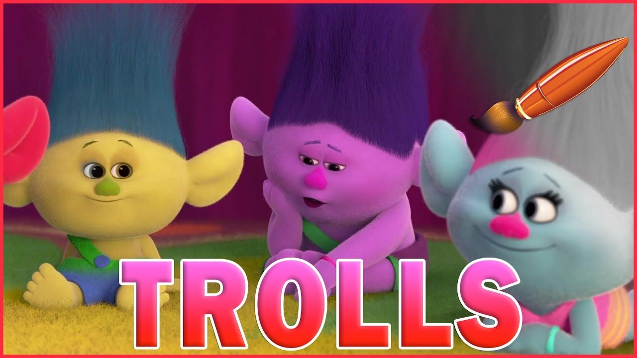 Trolls Coloring Pages Baby Trolls Poppy And Branch Kids Coloring Book