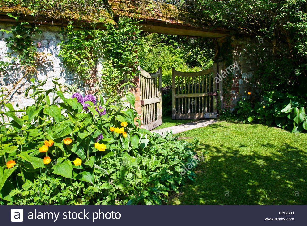 English Country Garden Gates