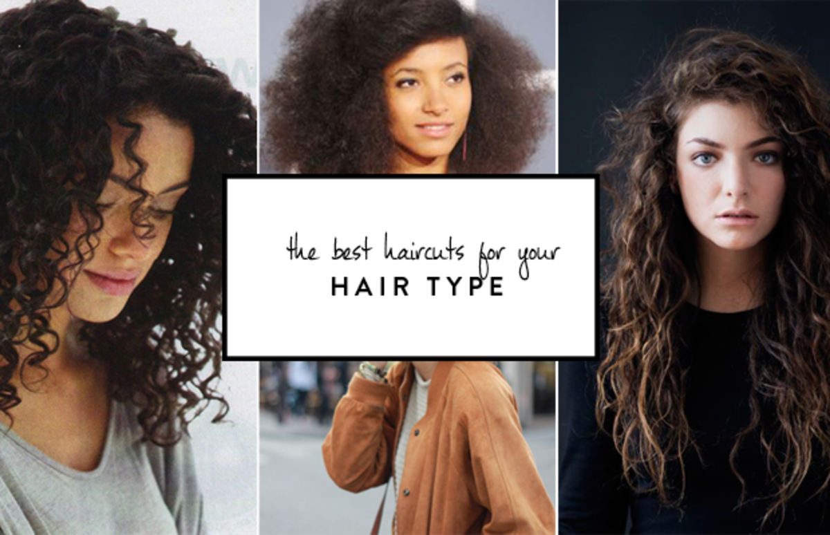 the best haircuts for curly, thick, and fine hair | hair & nails