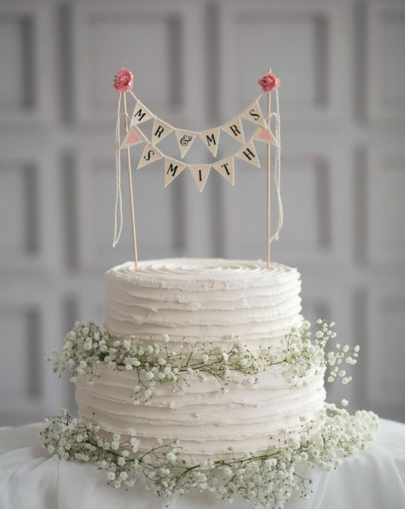 Herr Frau Hochzeitstorte Topper Herr Und Frau Cake Topper