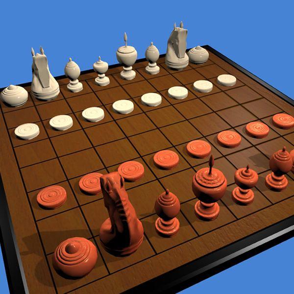 Play Makruk Online 3d Or 2d Thai Chess Http Www Jocly Com Play Makruk Tabuleiro De Xadrez Jogos Xadrez