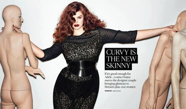 Curvy is the new skinny
