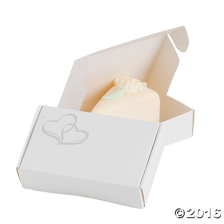 Two Hearts Favor Boxes - OrientalTrading.com | Wedding stuff ...