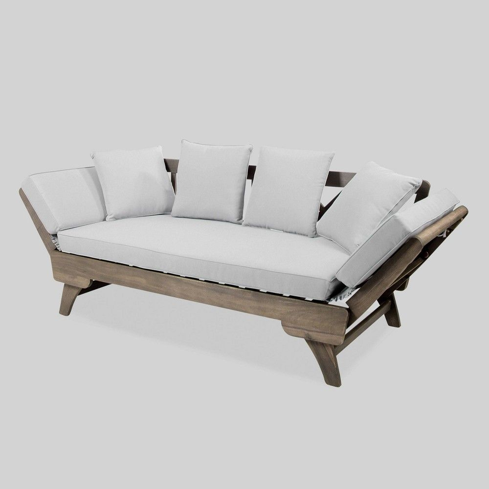 Ottavio Outdoor Wood Daybed on Belham Living Brighton Outdoor Daybed  id=75650