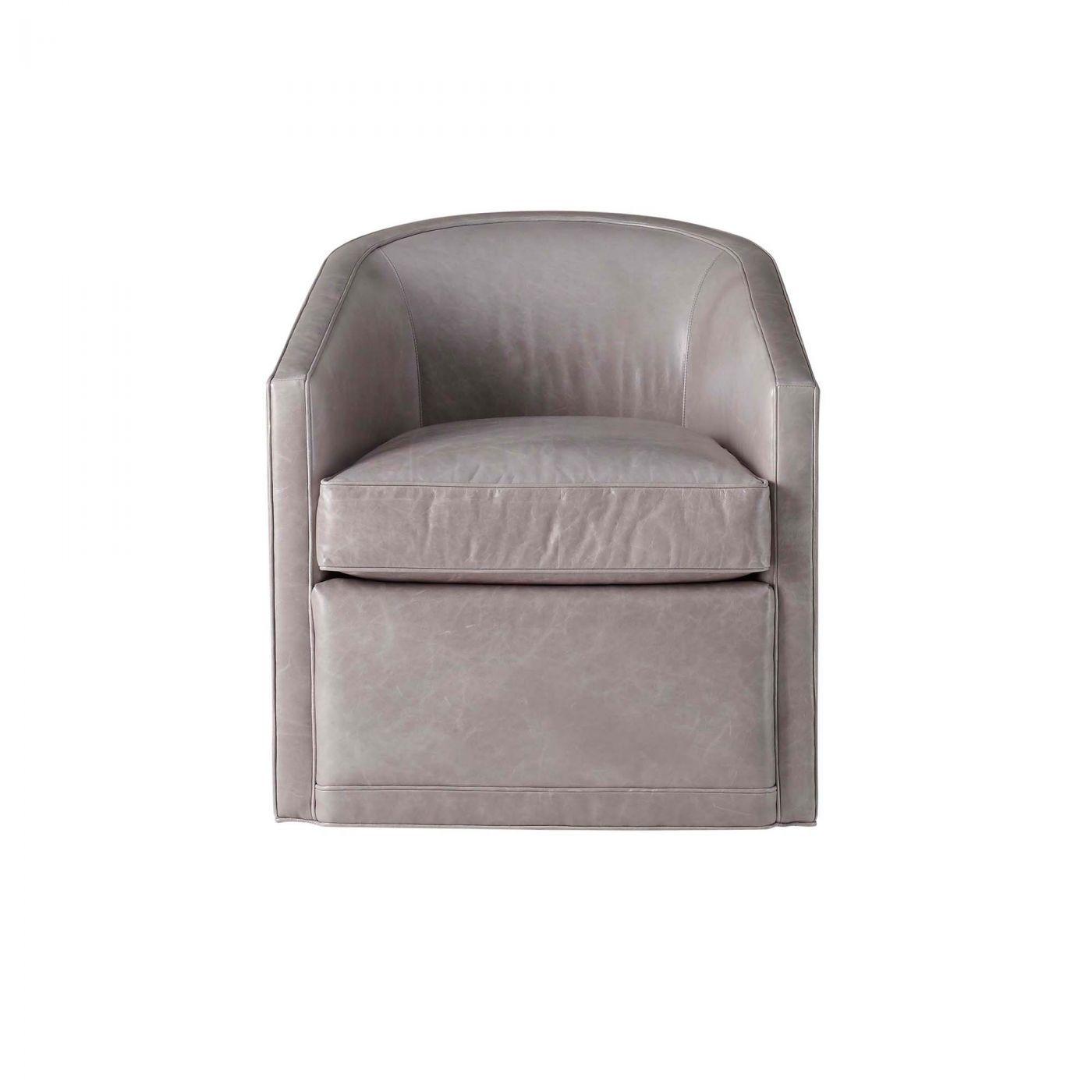 Serge bucket chair L WS105 CH in Kravet s 100% Leather L Haute