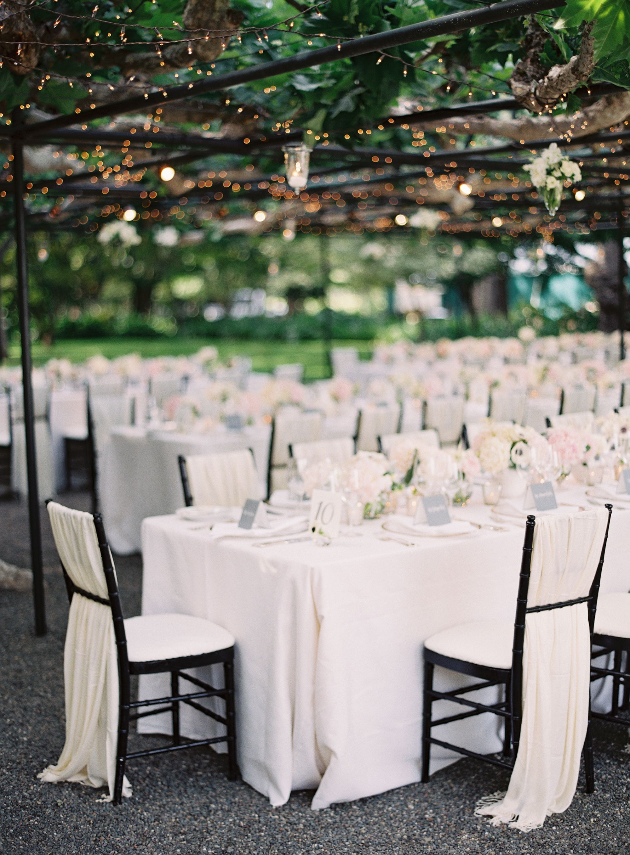 Black Tie Al Fresco Affair In Napa Wedding Chairswedding Tablewedding Chair Coverswedding