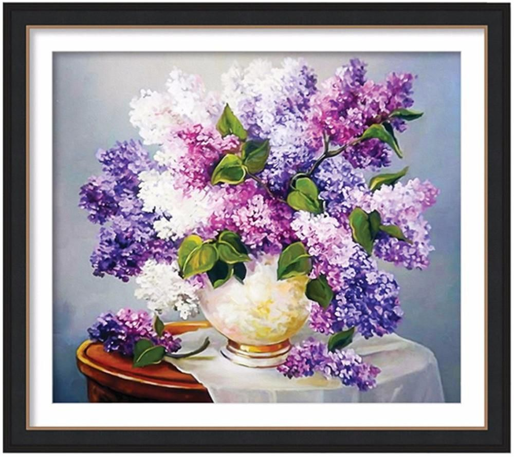 [Visit to Buy] diy diamond painting,painting rhinestones,home decoration painting,square,full,diy,3d embroidery,diamond embroidery flower #Advertisement